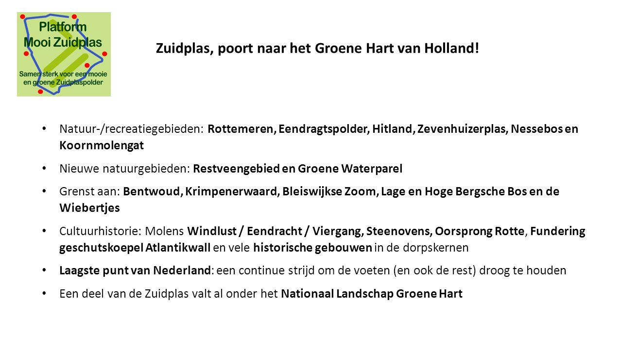 Zuidplas, poort naar het Groene Hart van Holland!