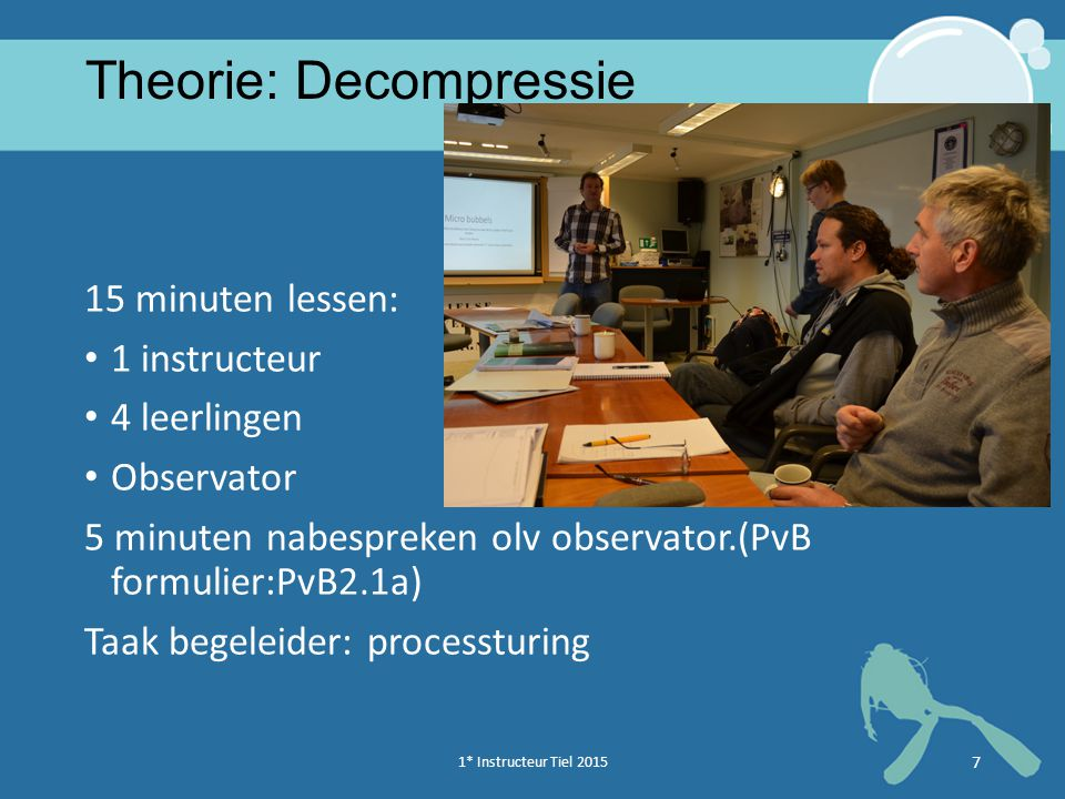 Theorie: Decompressie