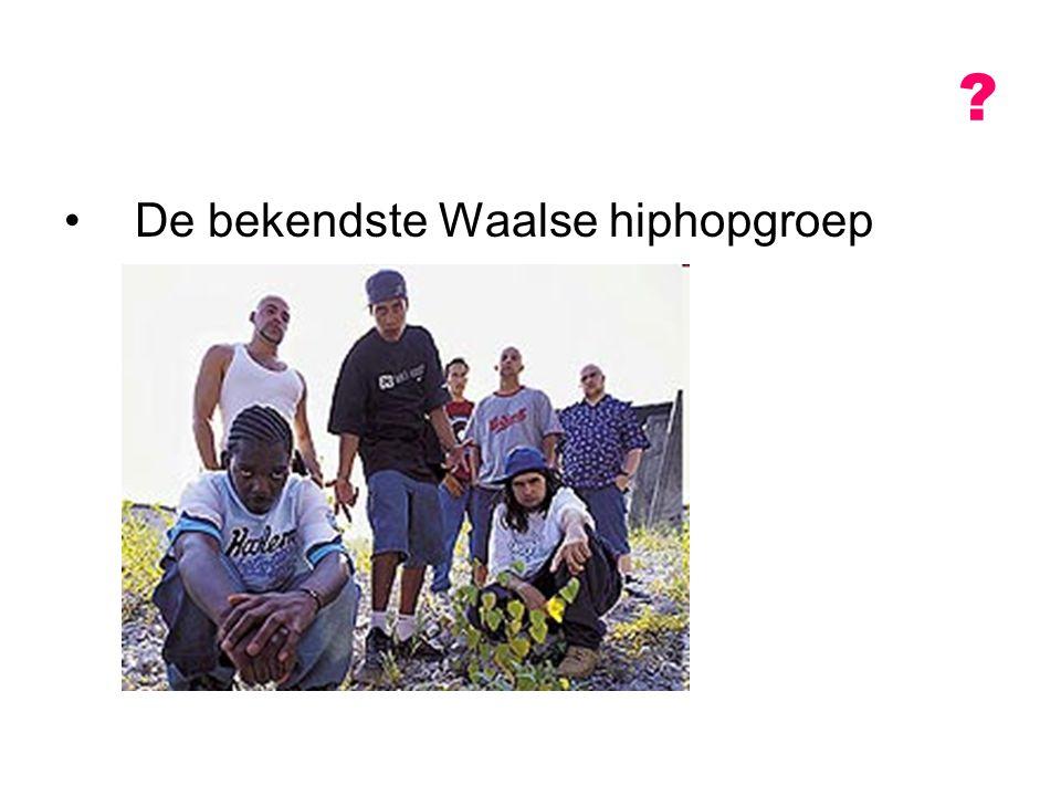 De bekendste Waalse hiphopgroep