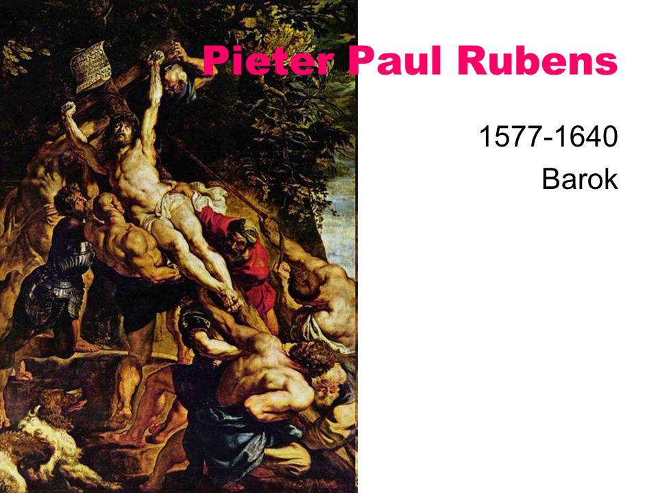 Pieter Paul Rubens 1577-1640 Barok