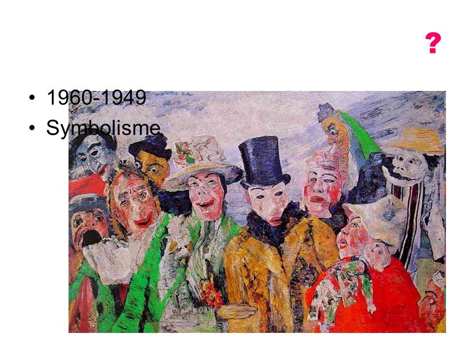 1960-1949 Symbolisme