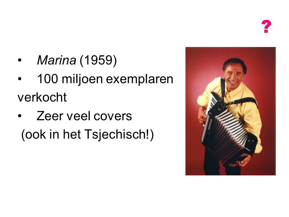 Marina (1959) 100 miljoen exemplaren verkocht Zeer veel covers