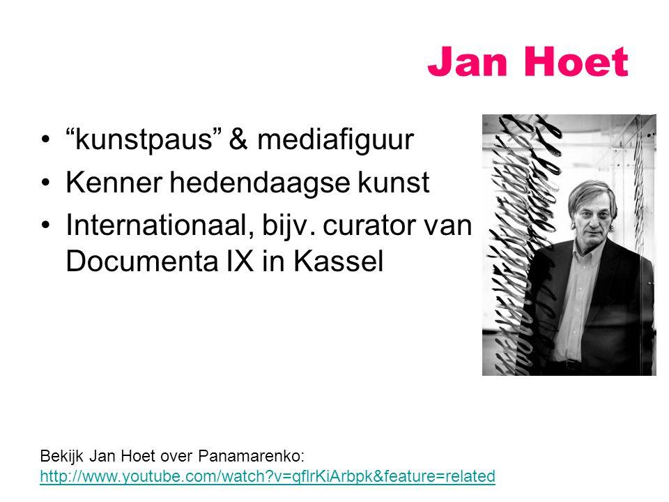 Jan Hoet kunstpaus & mediafiguur Kenner hedendaagse kunst