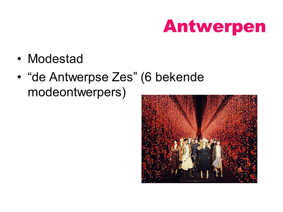 Antwerpen Modestad de Antwerpse Zes (6 bekende modeontwerpers)