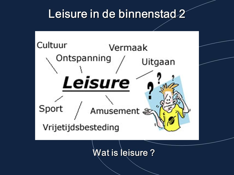 Leisure in de binnenstad 2