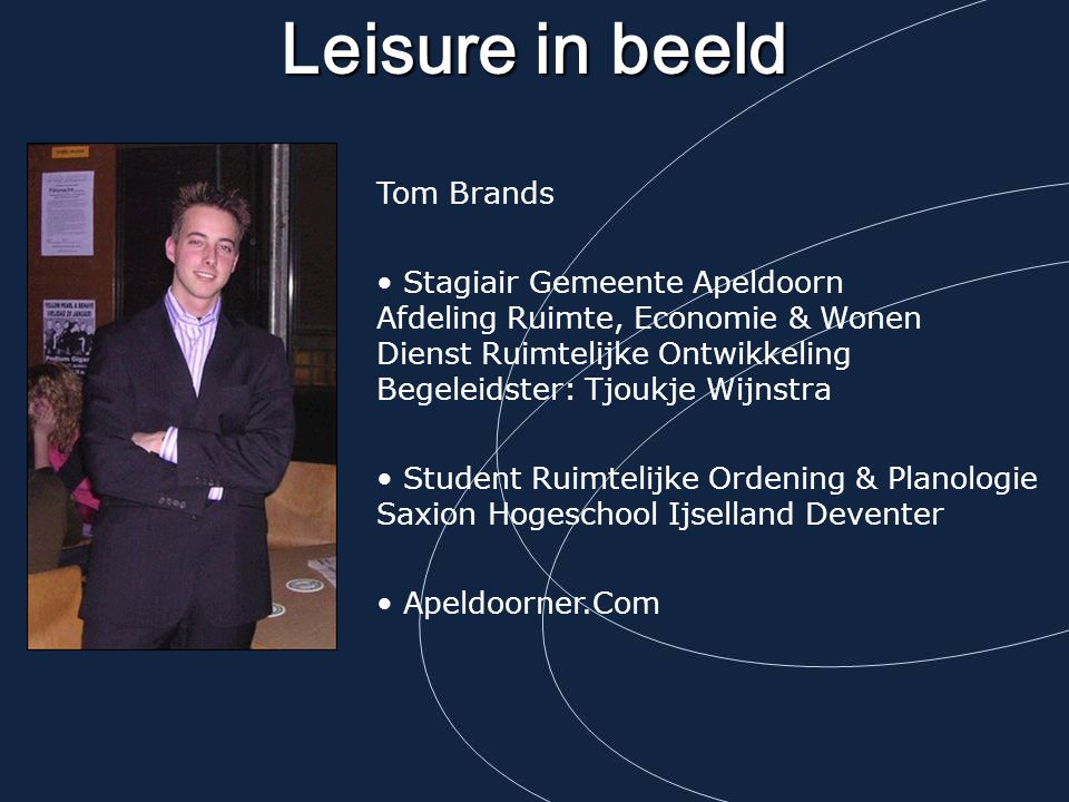 Leisure in beeld Tom Brands