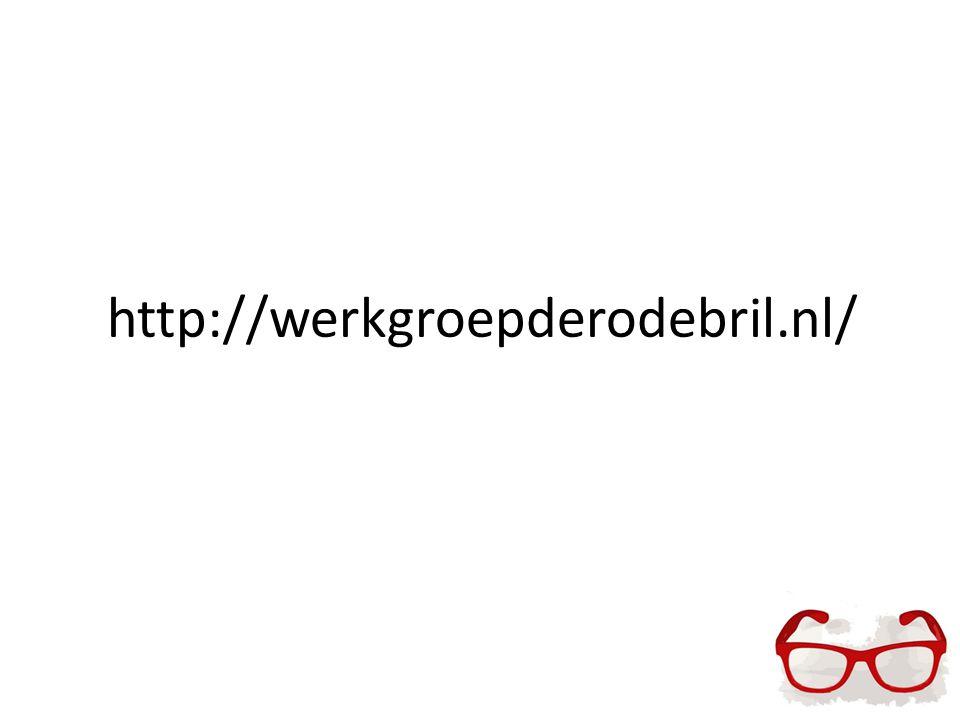 http://werkgroepderodebril.nl/