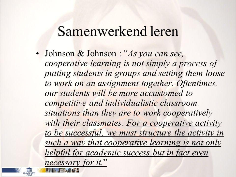 Samenwerkend leren