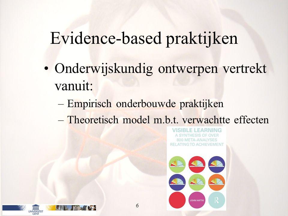 Evidence-based praktijken
