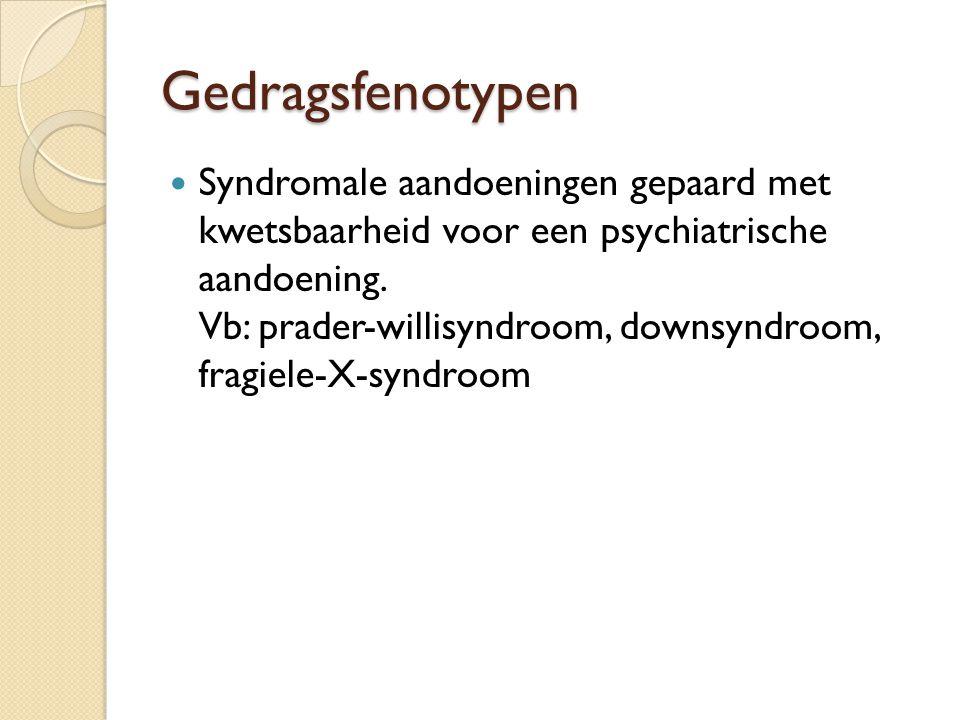 Gedragsfenotypen