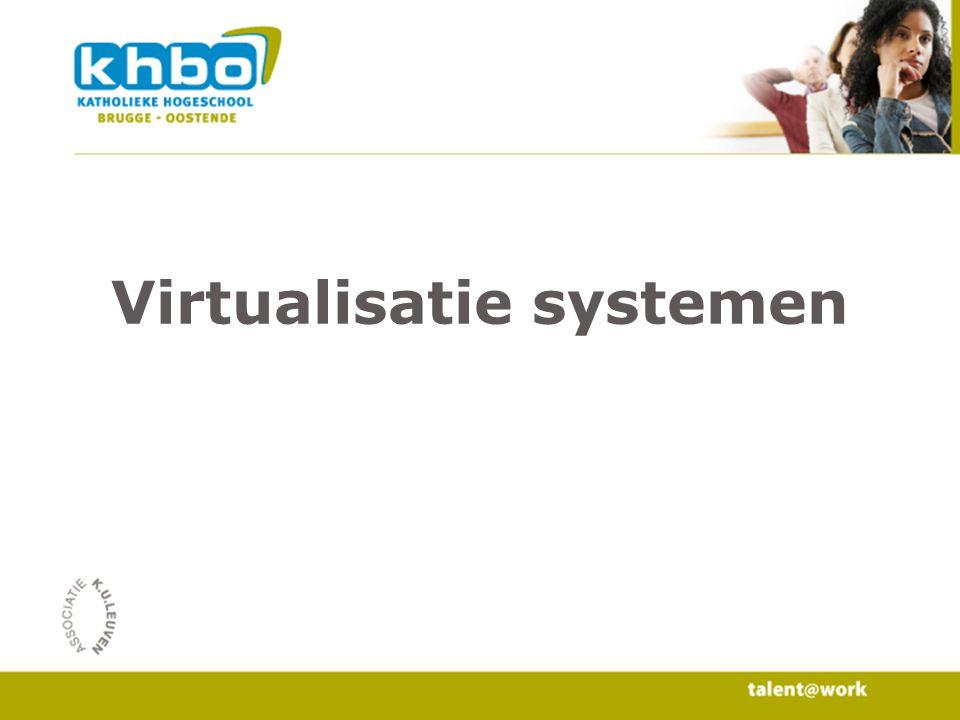 Virtualisatie systemen