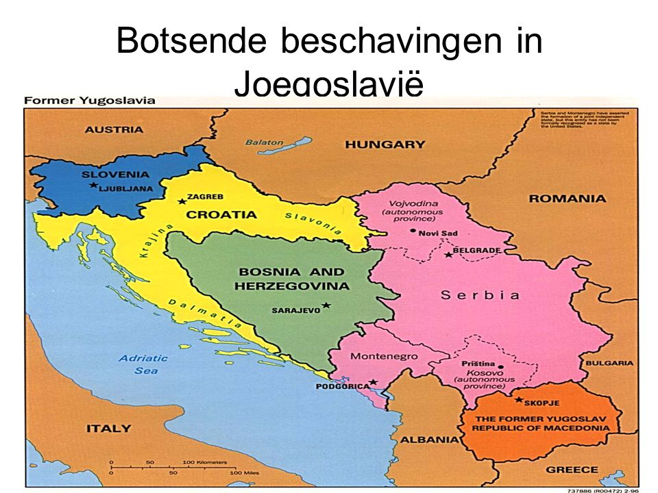 Botsende beschavingen in Joegoslavië