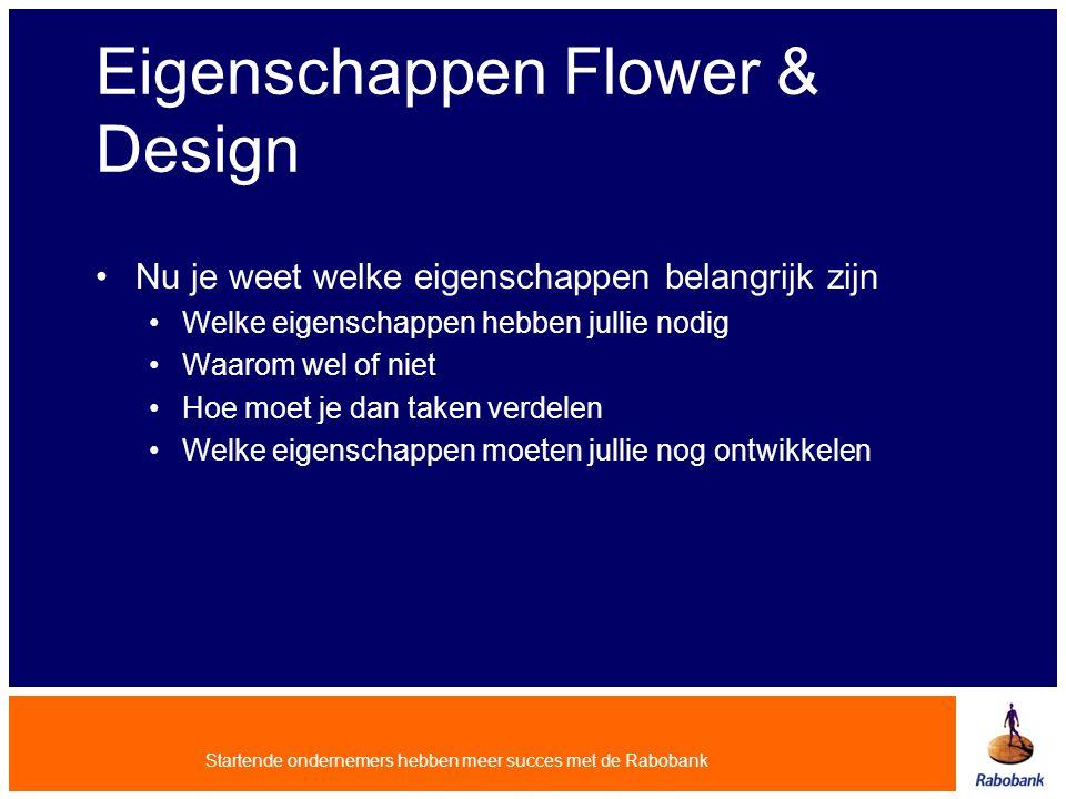 Eigenschappen Flower & Design