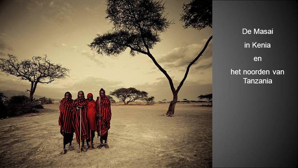 het noorden van Tanzania