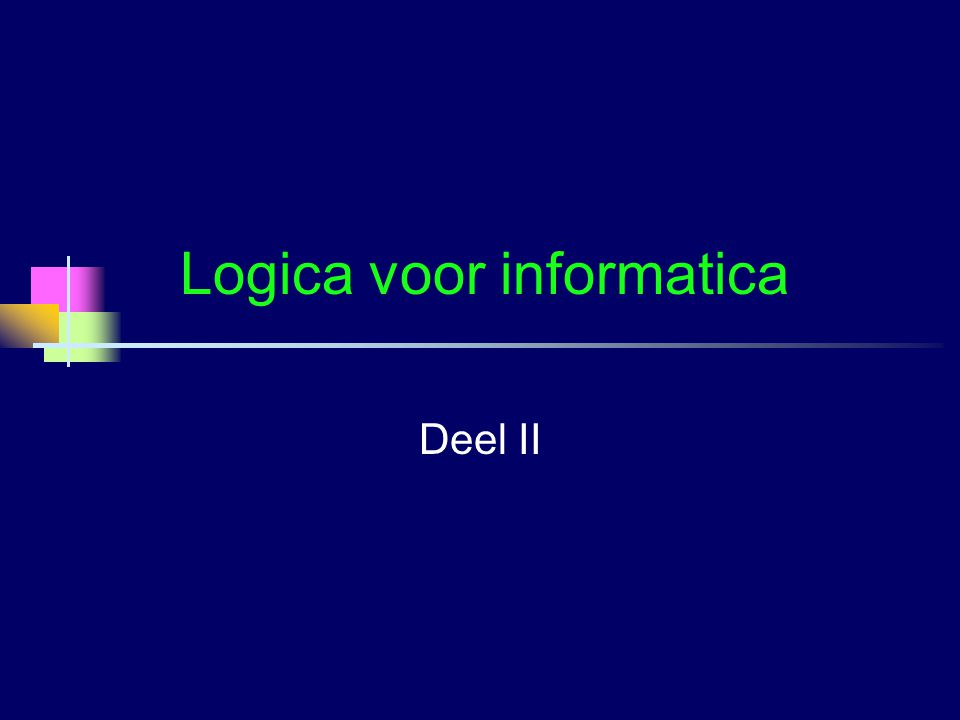 Logica voor informatica