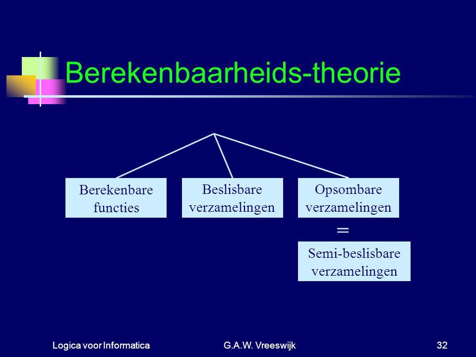 Berekenbaarheids-theorie