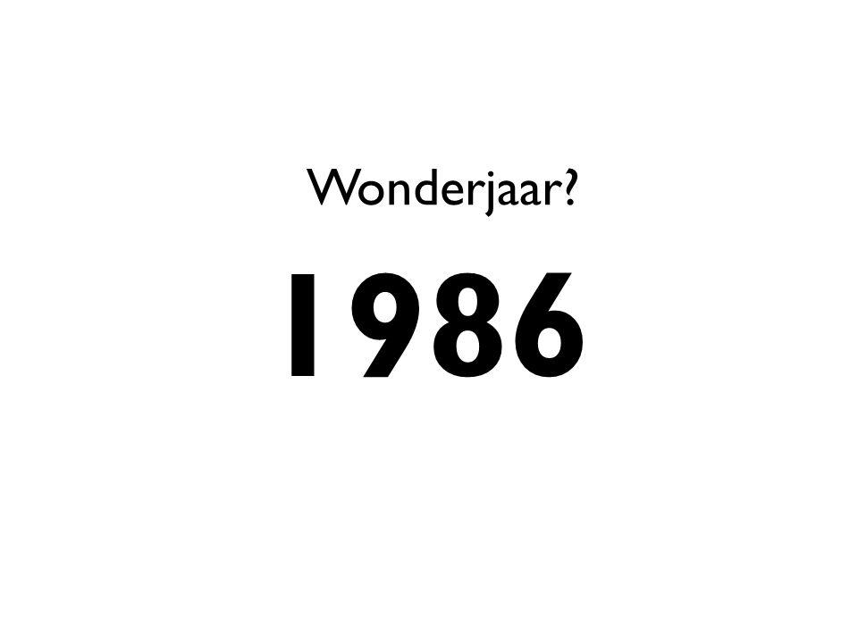 1986 Wonderjaar