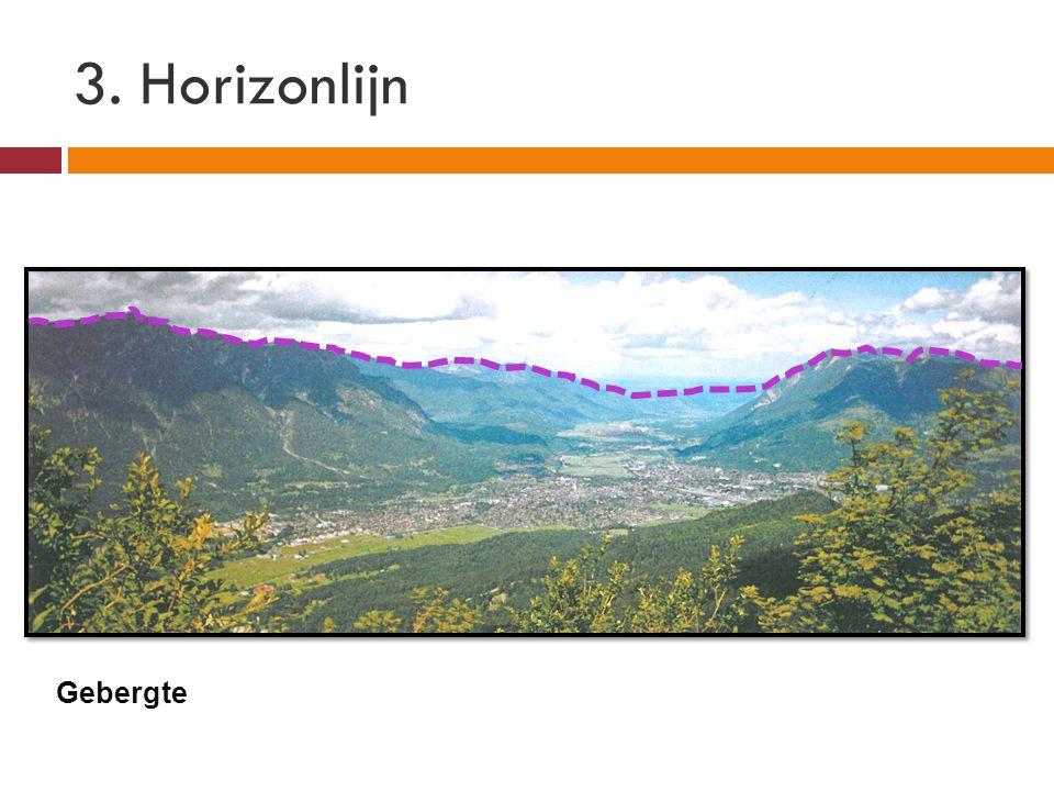 3. Horizonlijn Gebergte