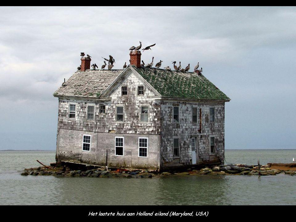 Het laatste huis aan Holland eiland (Maryland, USA)