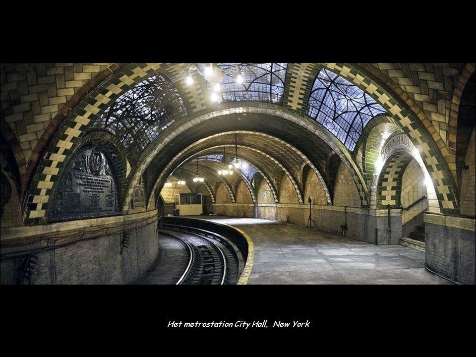 Het metrostation City Hall, New York