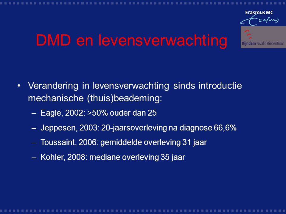 DMD en levensverwachting
