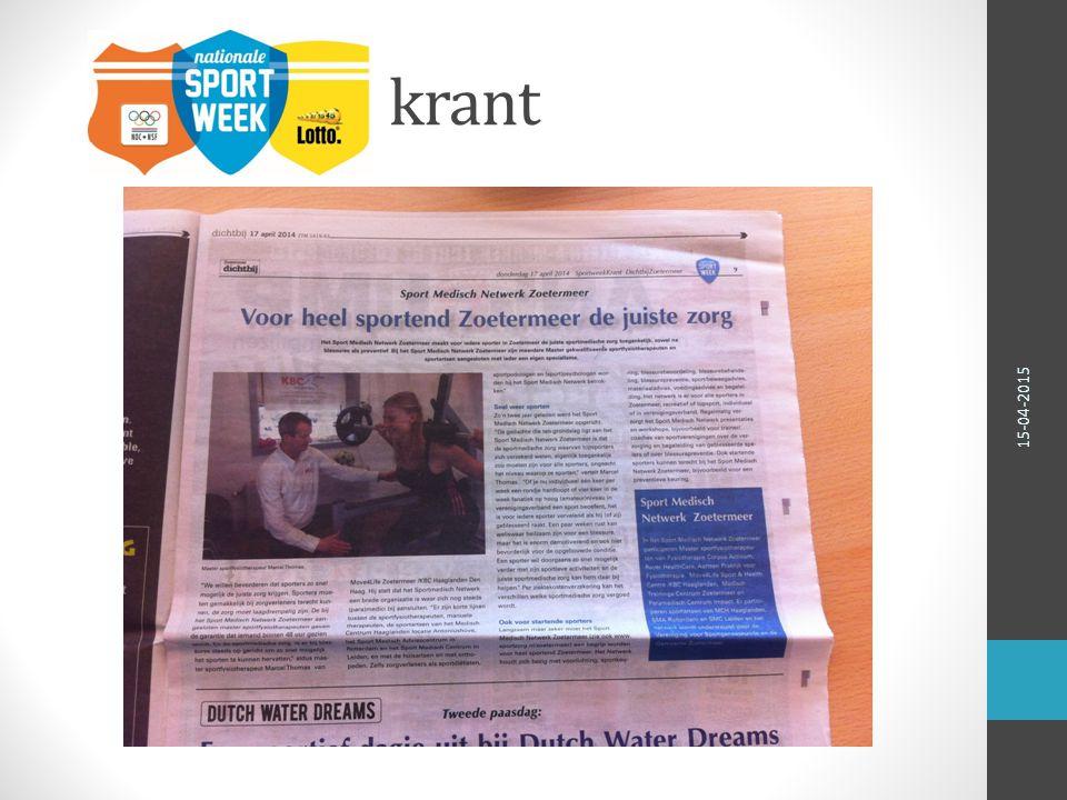 krant 15-04-2015