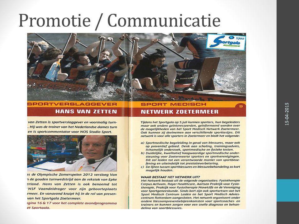 Promotie / Communicatie