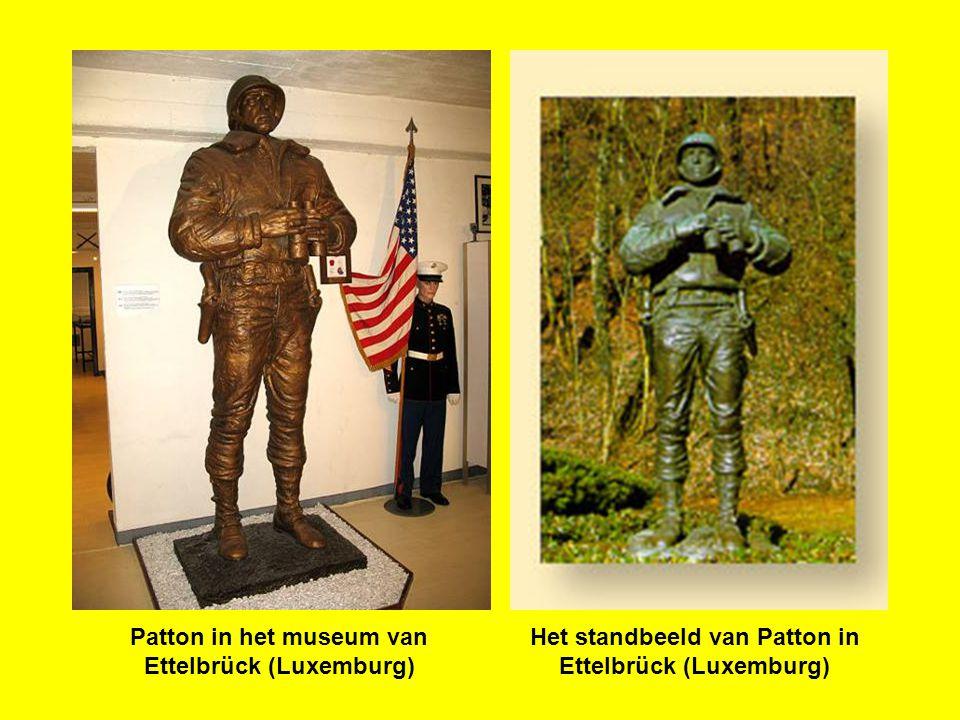 Patton in het museum van Ettelbrück (Luxemburg)