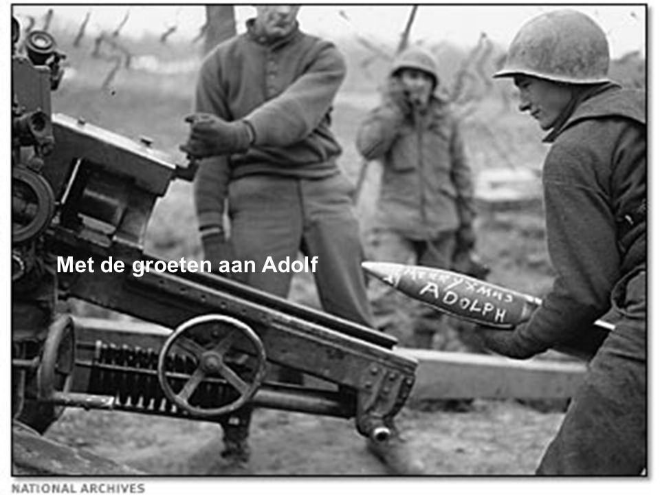 Met de groeten aan Adolf