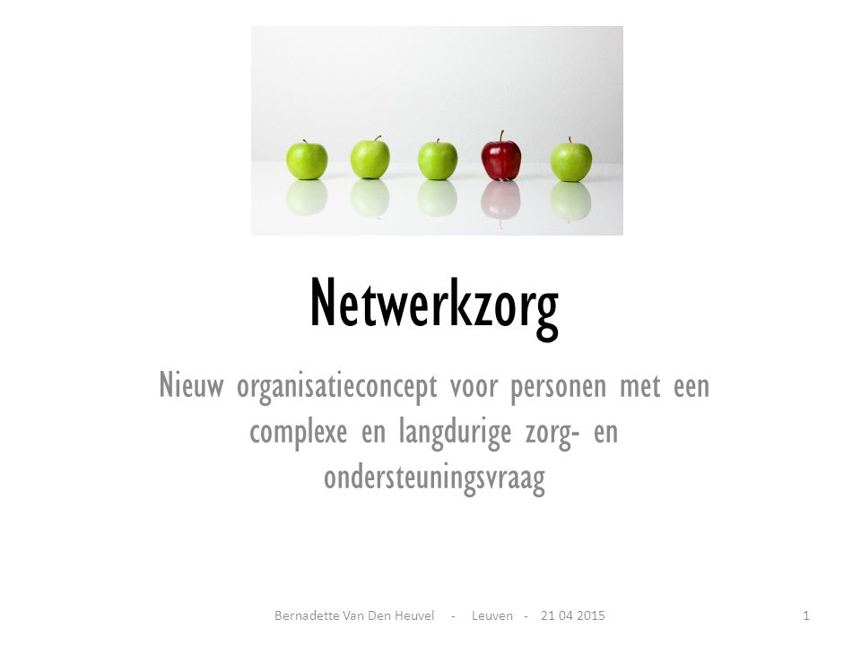 Bernadette Van Den Heuvel - Leuven - 21 04 2015