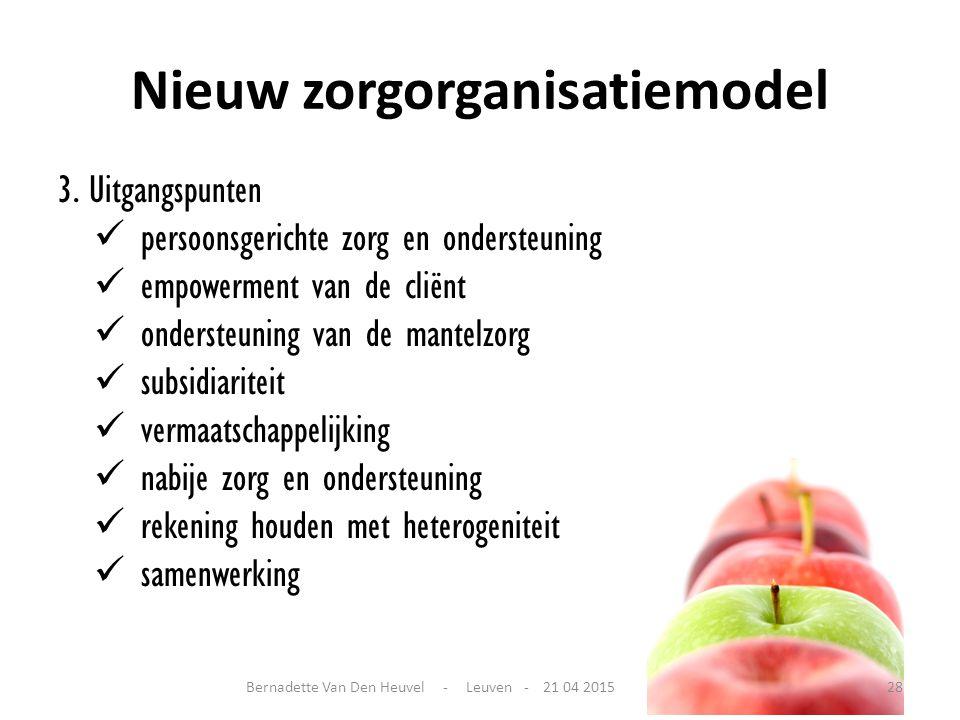 Nieuw zorgorganisatiemodel