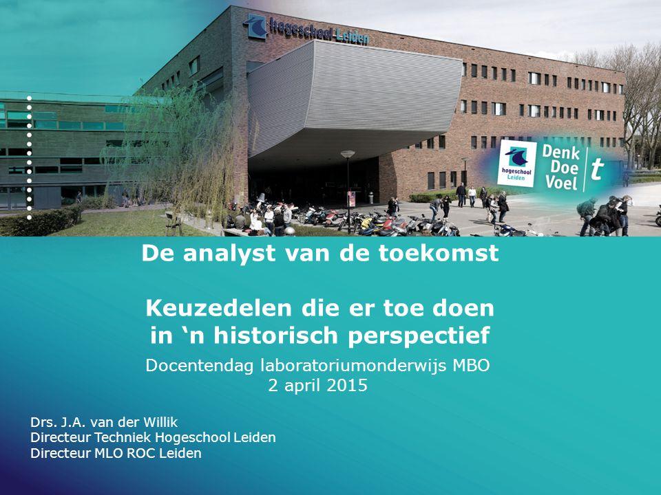 Docentendag laboratoriumonderwijs MBO