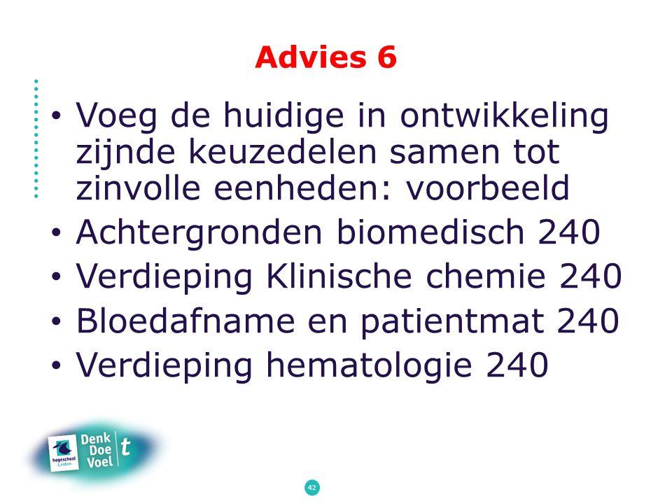 Achtergronden biomedisch 240 Verdieping Klinische chemie 240