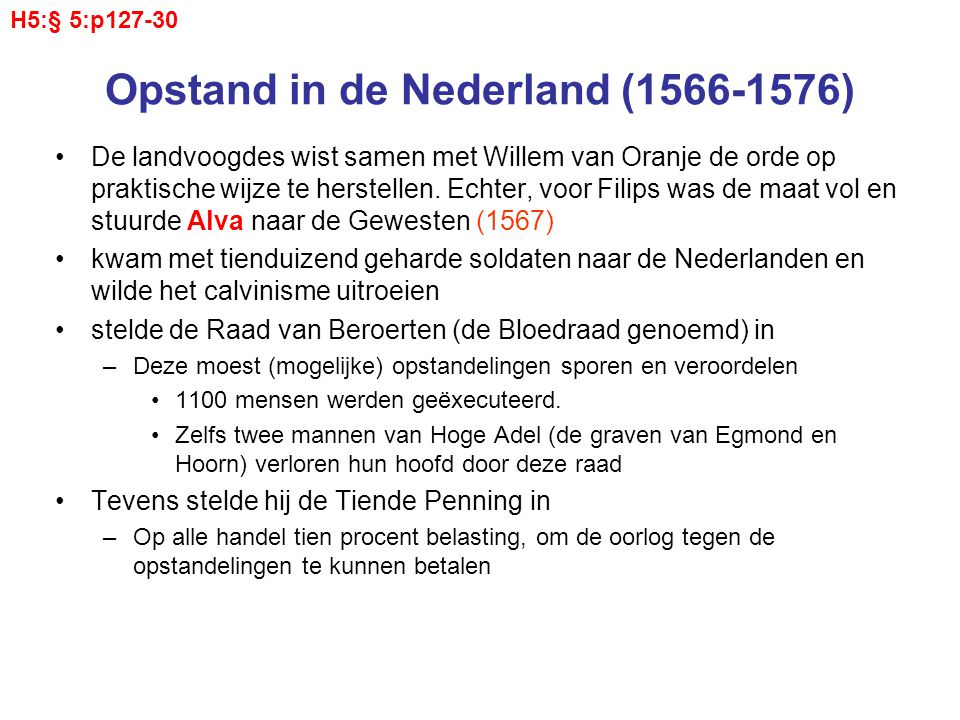 Opstand in de Nederland (1566-1576)