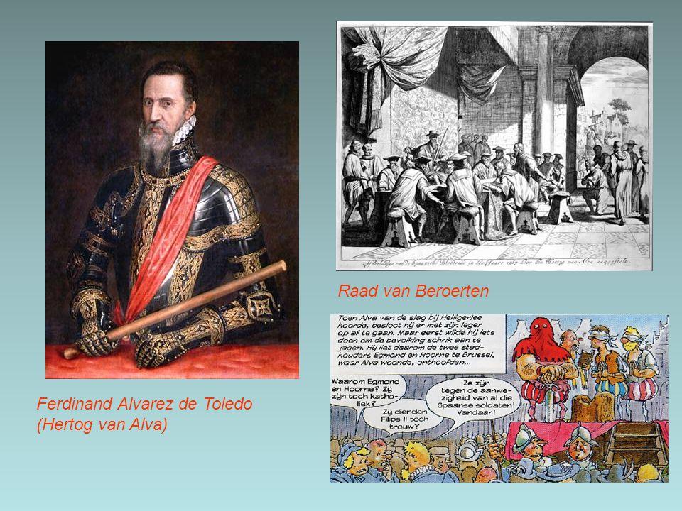 Raad van Beroerten Ferdinand Alvarez de Toledo (Hertog van Alva)