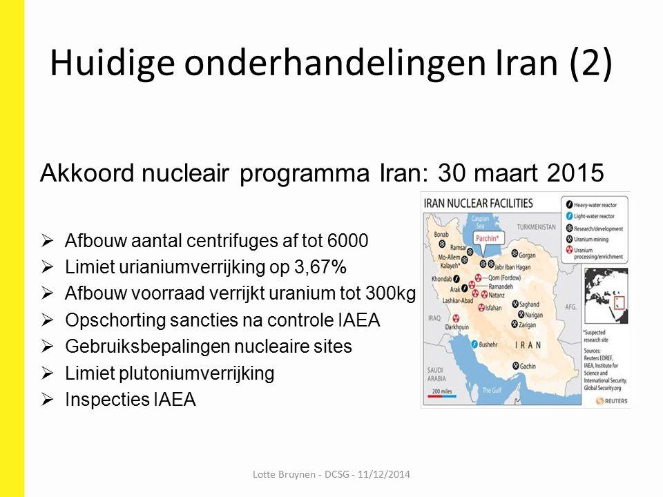 Huidige onderhandelingen Iran (2)