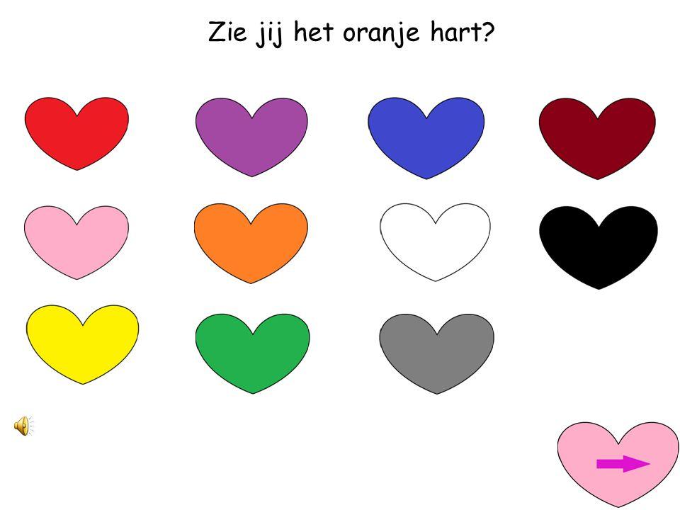 Zie jij het oranje hart