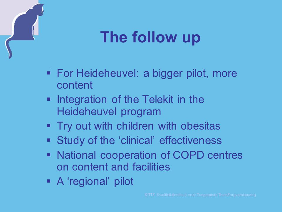 The follow up For Heideheuvel: a bigger pilot, more content