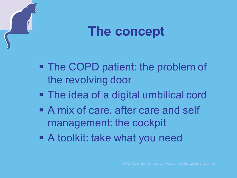 The concept The COPD patient: the problem of the revolving door