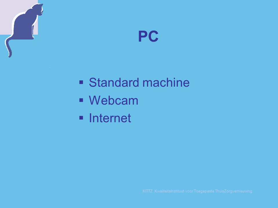 PC Standard machine Webcam Internet