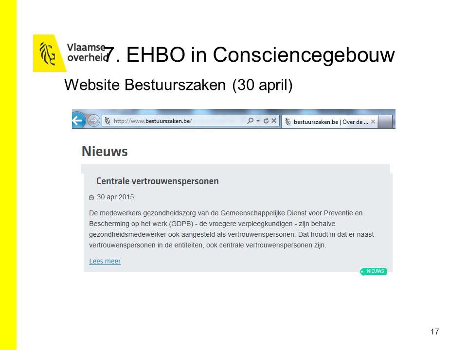 7. EHBO in Consciencegebouw
