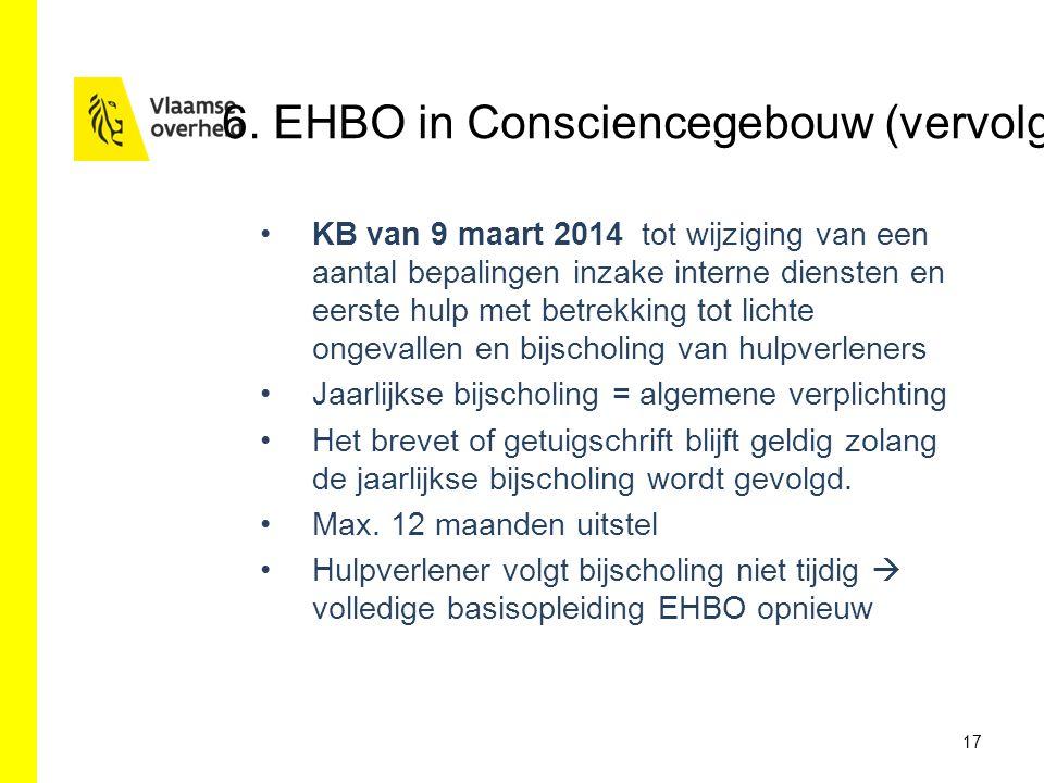 6. EHBO in Consciencegebouw (vervolg)