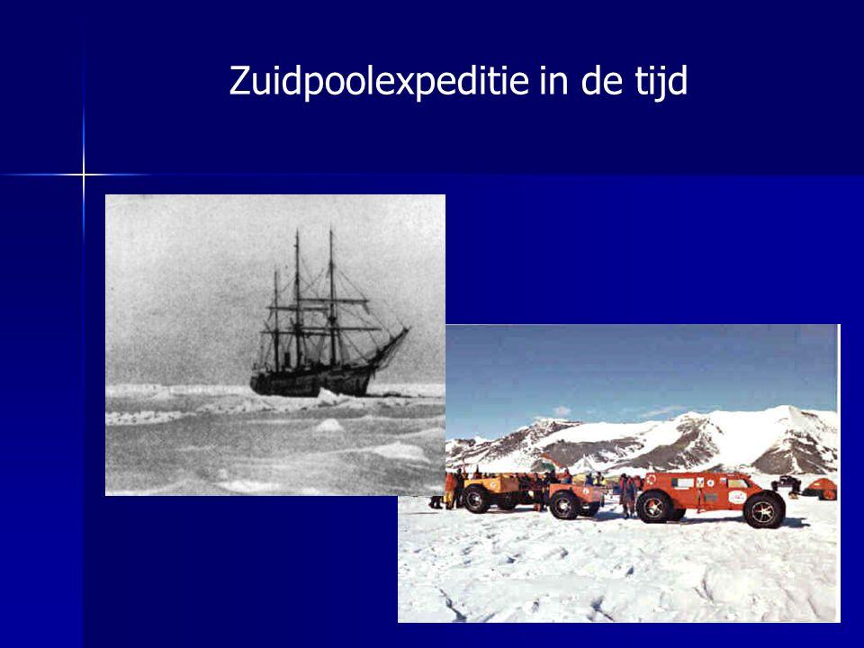 Zuidpoolexpeditie in de tijd