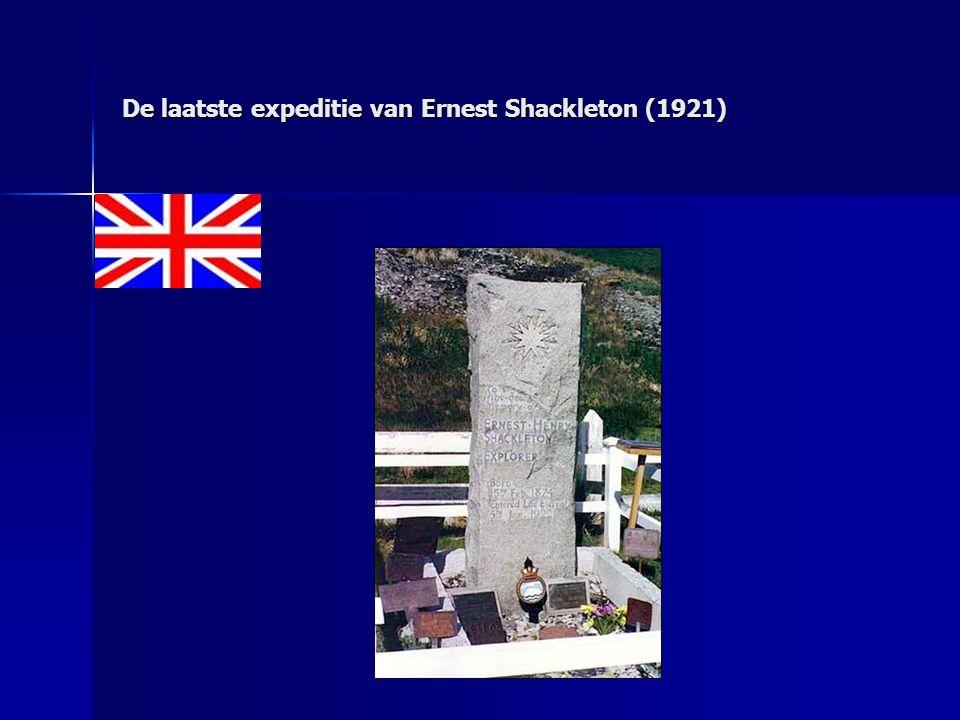De laatste expeditie van Ernest Shackleton (1921)