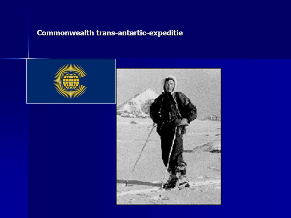 Commonwealth trans-antartic-expeditie