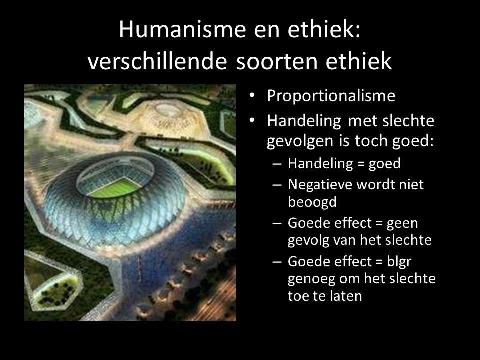 Humanisme en ethiek: verschillende soorten ethiek