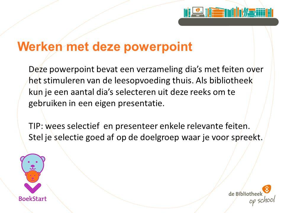 Werken met deze powerpoint