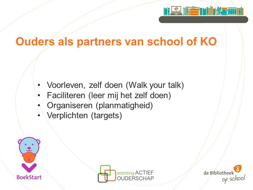 Ouders als partners van school of KO