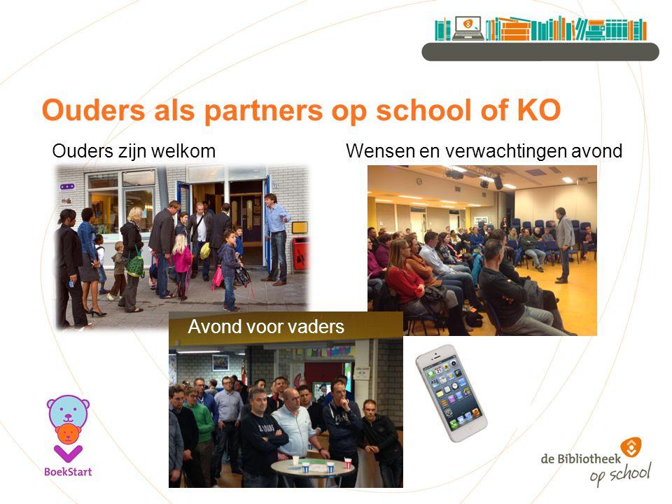 Ouders als partners op school of KO