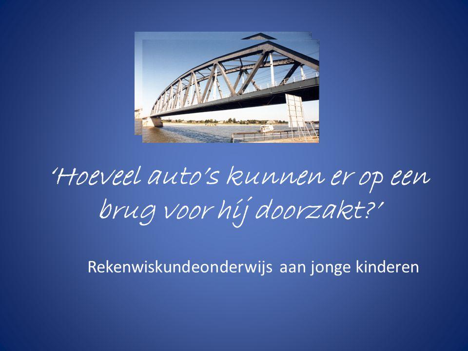 'Hoeveel auto's kunnen er op een brug voor hij doorzakt '